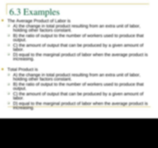 Examples Which of the following statements best describes ...