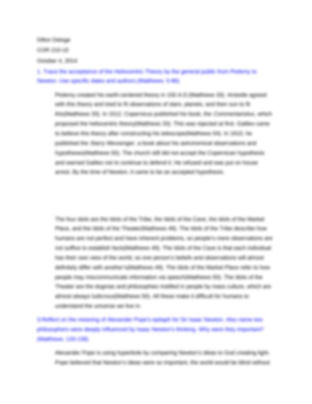 Autobiography psychology essay