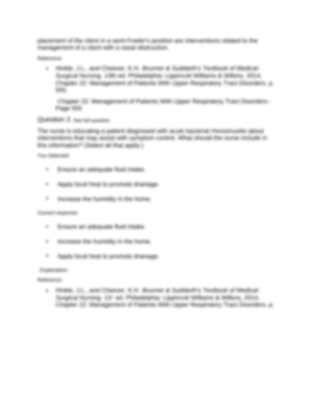 544 Chapter 22 Management of Patients With Upper ...