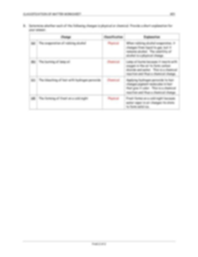 Classification of Matter Worksheet - Key (1).pdf ...