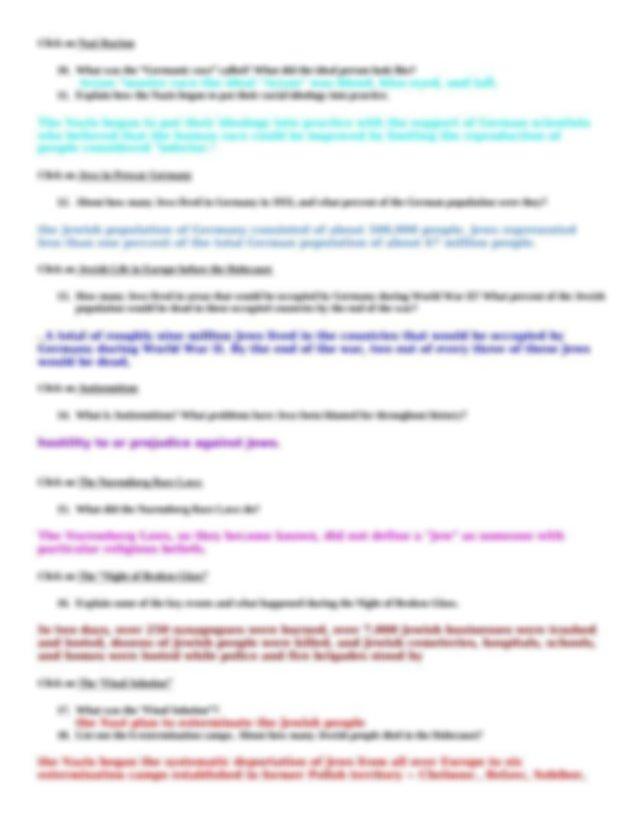Holocaust Webquest.docx - Holocaust Webquest Name_kayla ...