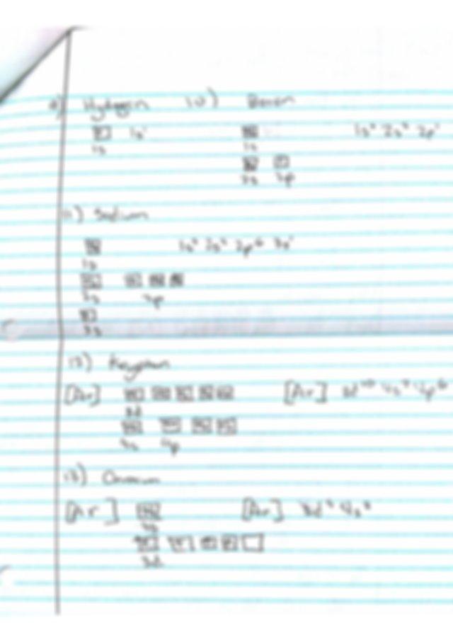 Homework  Orbital Diagrams  Orbital Diagrams Name Nora L Chem Worksheet 5