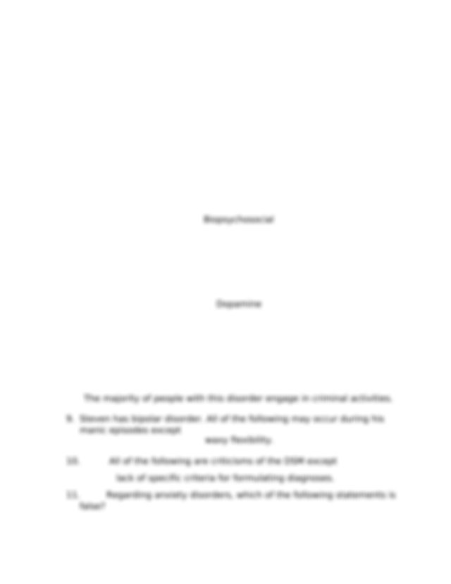 Chapter 13 Post Test.docx - Chapter 13 Post Test 1 A class ...