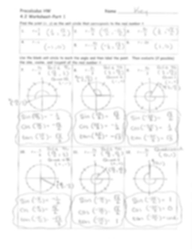 4_2 HW answer key.pdf - Precalculus HW Name lgx1 4.2 ...