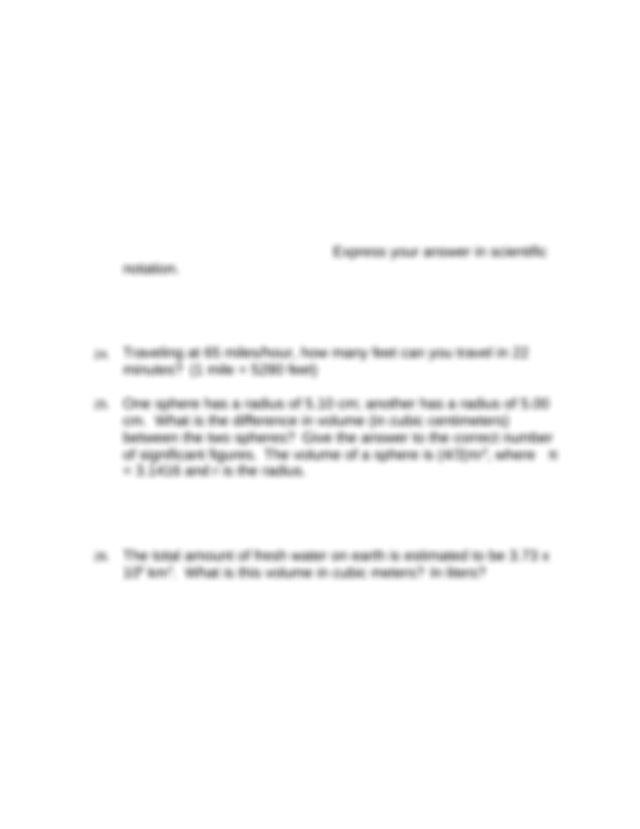 dim analysis 1 - Dimensional Analysis Worksheet#2 1 261 g ...