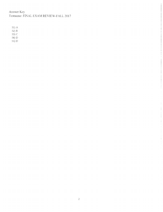 Final Exam Review and Answer Key - Math 1332.pdf ...