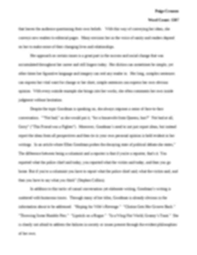 Essay of my school in french