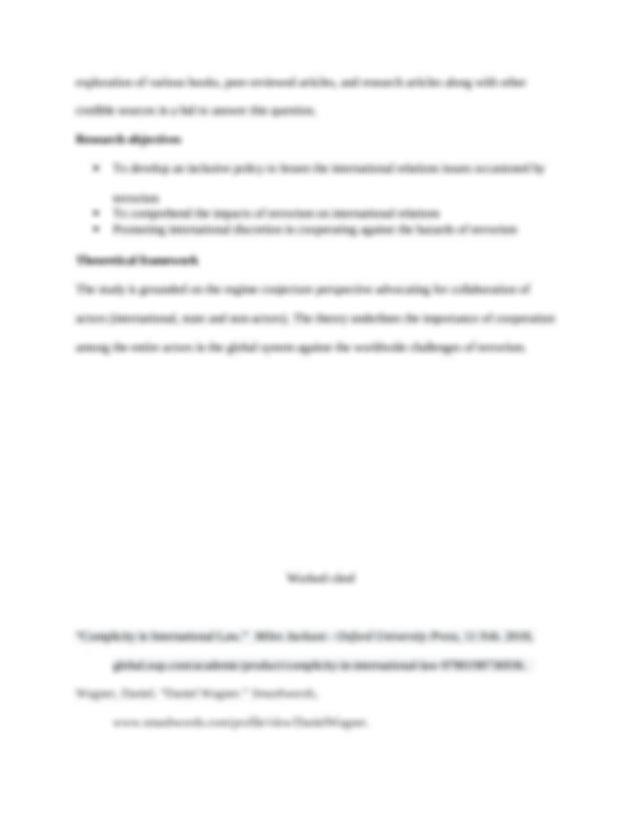 Essay paper structure