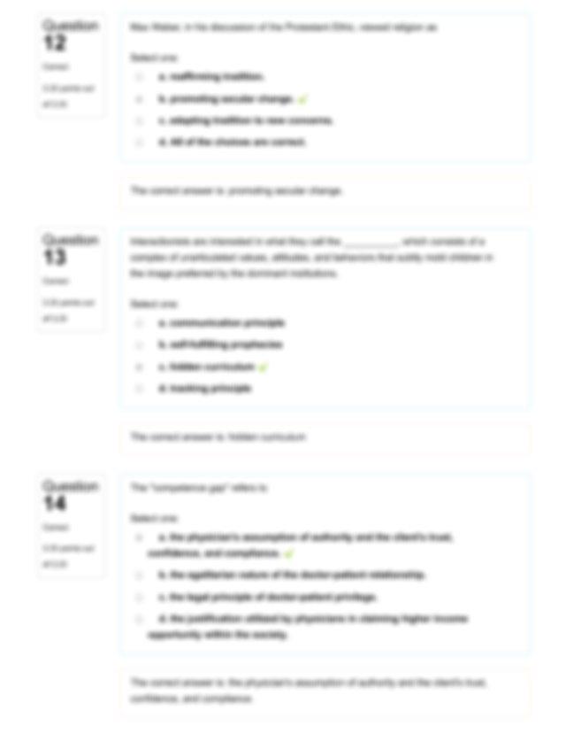 Topic 12 Quiz Pdf  Moodle Straighterline