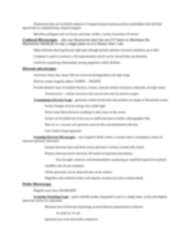Microbiology final exam review.docx - Final exam Multiple