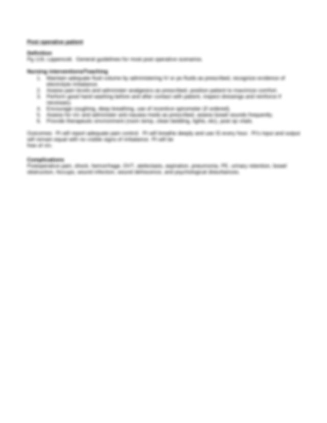 Nursing Diagnosis Ineffective airway clearance rt ...