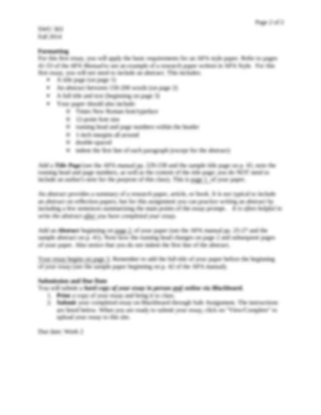 Essays kfc introduction