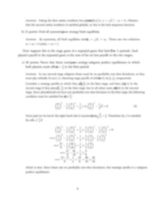 W16 409 Final Exam Key.pdf - Economics 409 Final Exam ...
