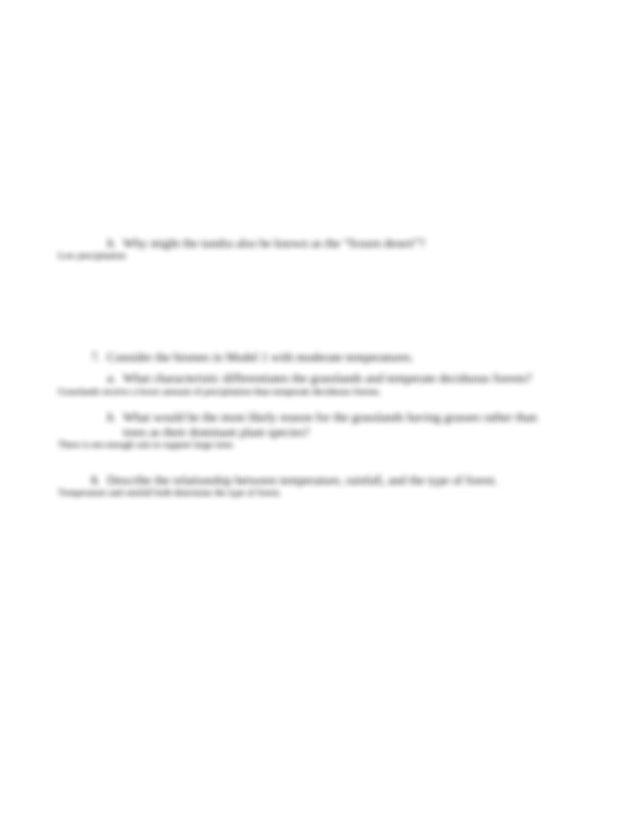 Chloe Gordon Biomes assignment.docx - Biomes of North ...