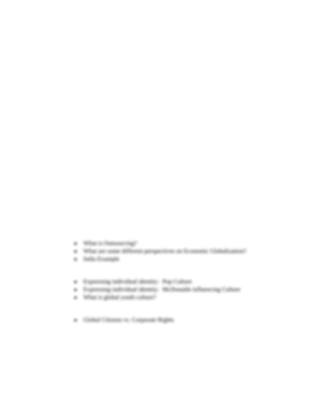 Final Exam Review - Social Studies 10-2 Living in a ...