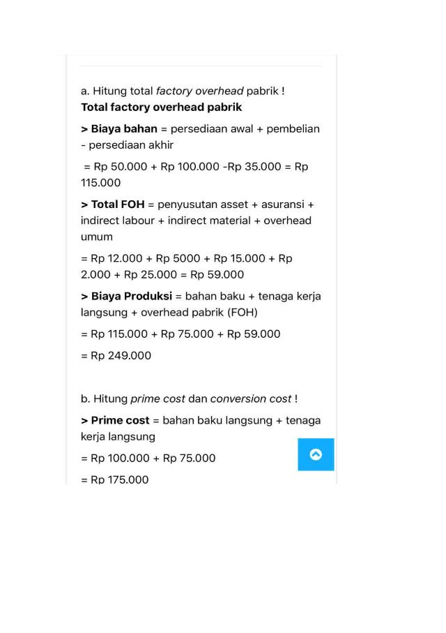 Akuntansi Biaya Uas Docx Akuntansi Biaya Quiz Pertemuan 3 Soal Selama Bulan Januari 2019 Anisa Company Pembelian Bahan Baku Langsung 100 000 Course Hero