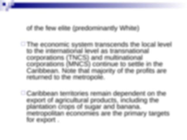 CARIBBEAN_MODELS - Sociology SOCI-1002 Group 2 CARIBBEAN ...