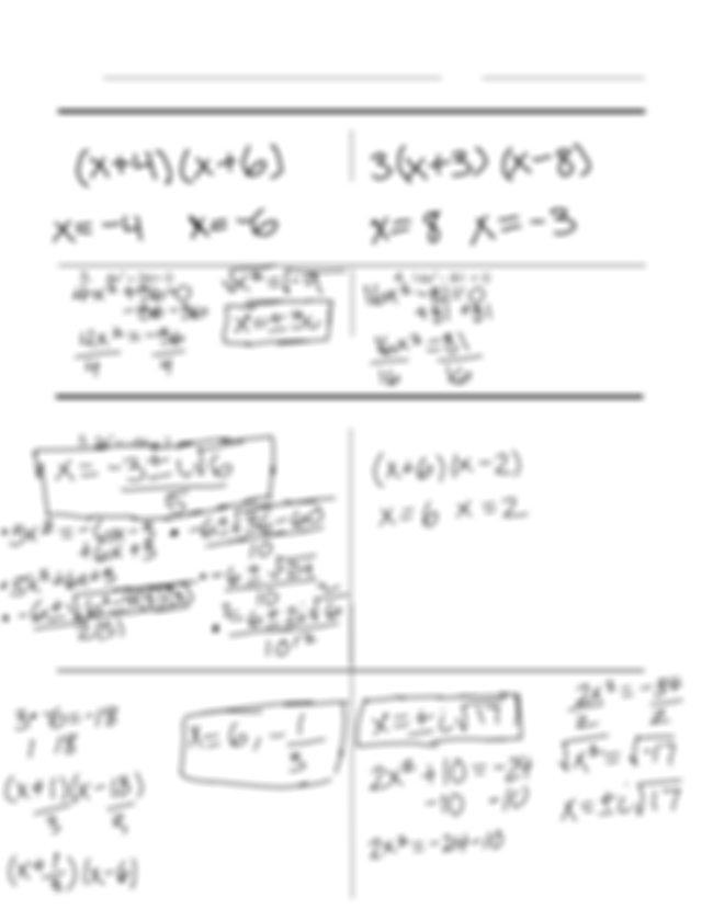 Review_-_Unit_1_Quadratics.pdf - Algebra 2 Test Review
