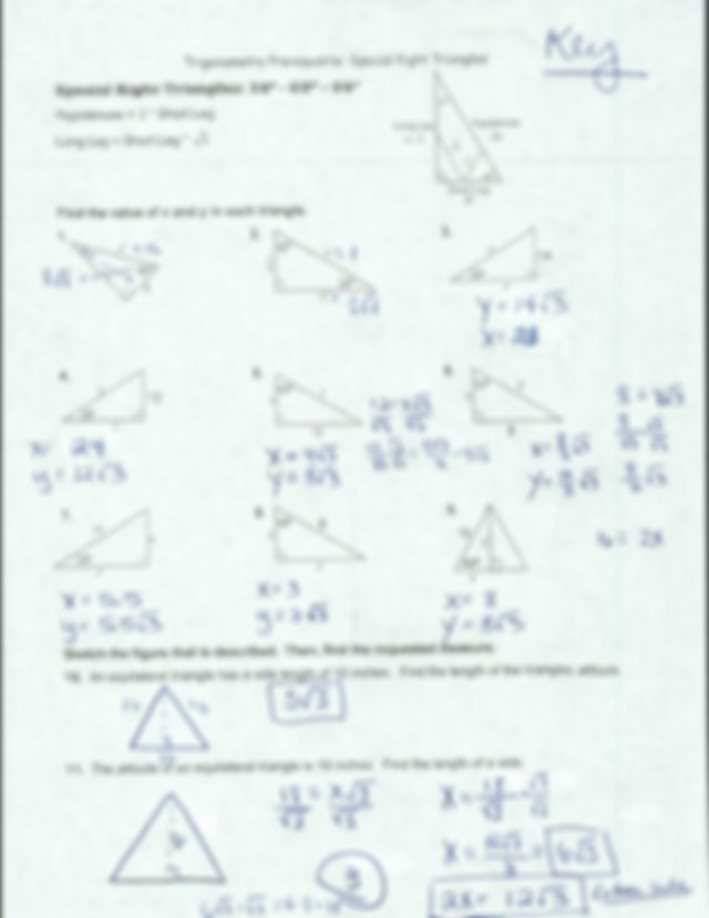 3-Special-Right-Triangles-KEY-1mcnedt.pdf - Trigonometry ...
