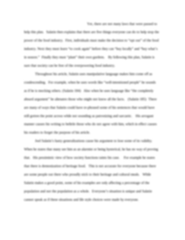 Chicago style essay