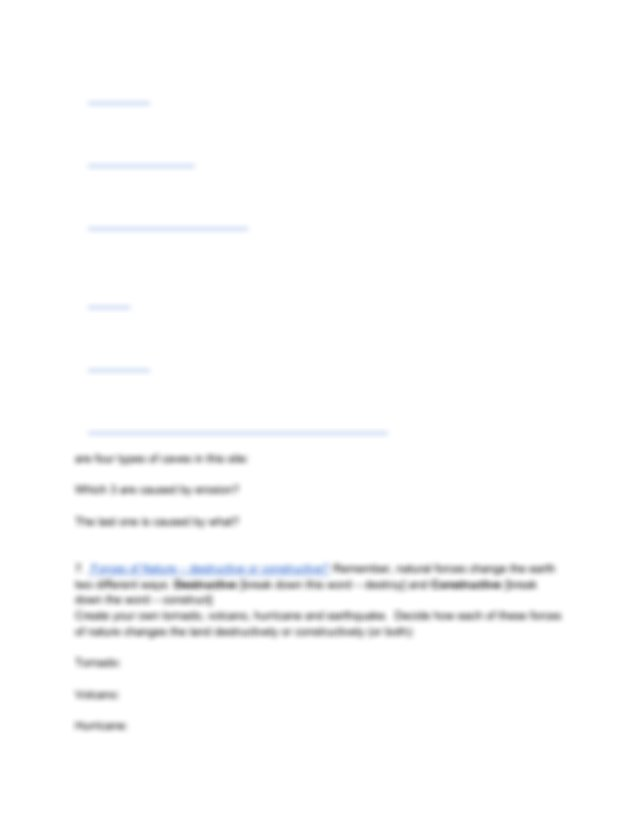 Weathering and Erosion Webquest (1).pdf - Weathering and ...