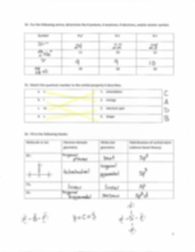 Chem 120 Final Exam Review KEY - Multiple Choice Chemistry ...