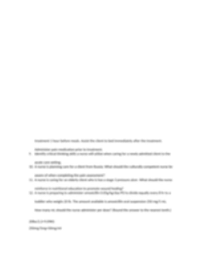 ATI Review.docx - ATI Review 1 What is the nurse priority ...
