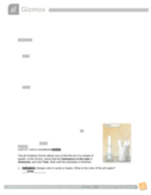 Gizmo pH Analysis Student Lab Sheet.docx - Name_Amanda ...