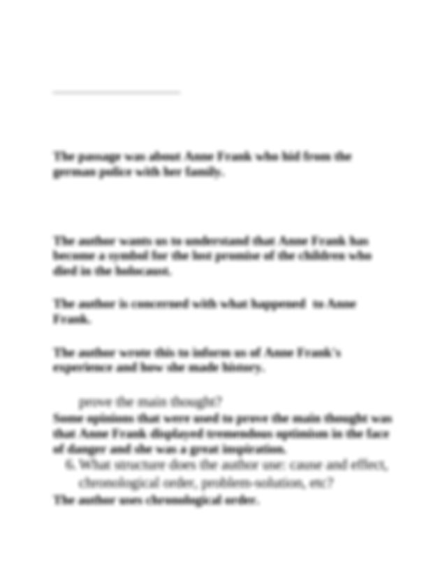 Commonlit_Anne Frank_engI.docx - Commonlit.org WHO WAS ...
