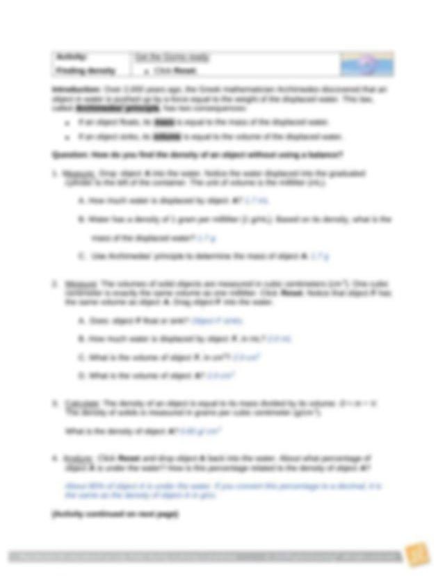 Determining Density via Water Displacement.pdf ...