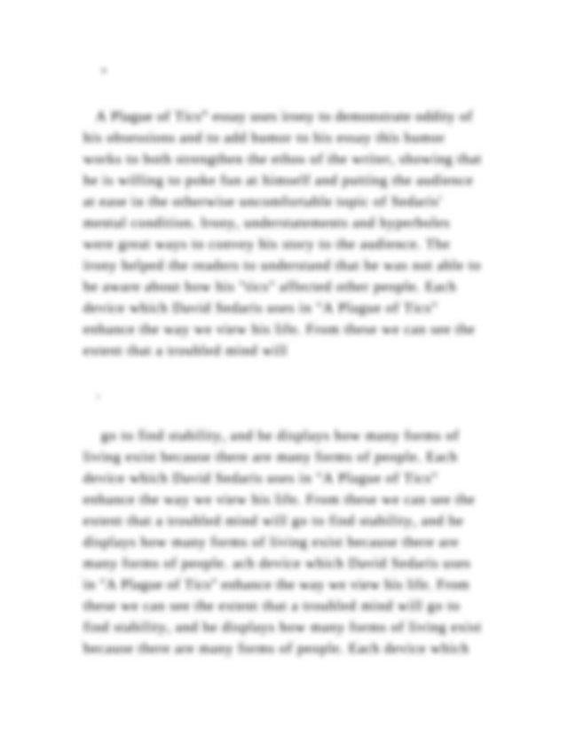 Crucible thesis paragraph