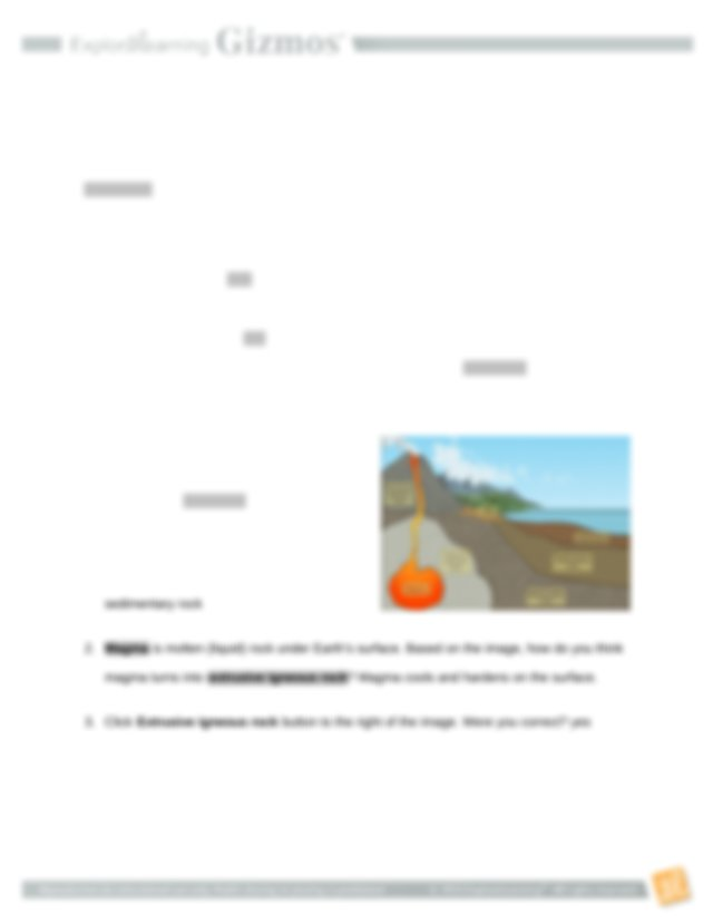 2.6 Rock Cycle SE.doc - Name Date Student Exploration Rock ...