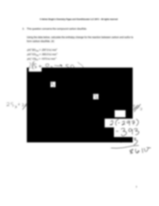 Thermochem - Adrian Dingles Chemistry Pages and ...