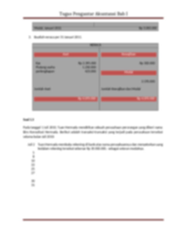 Dibayar Beban Sewa Kantor Dan Peralatan Untuk Bulan Juli Rp 21600000 Dibeli Course Hero