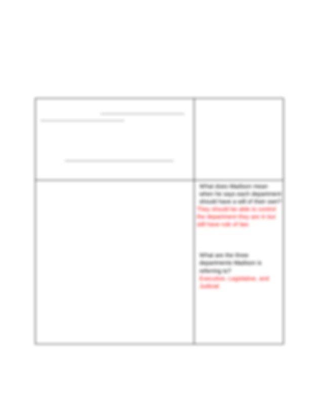 Cierra Kipps - Annotated Federalist No 51.docx - The