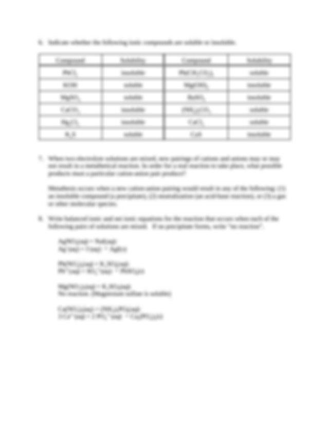 Chem 115 POGIL Worksheet 05 Answers2   Chem 115 POGIL ...