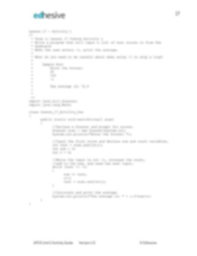lessons_14_-_32_coding_activity_answers.pdf - 13 Lesson 14 ...