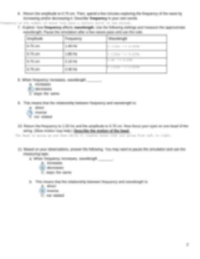 Properties of Waves Virtual Lab.pdf - Simone Sadler Name ...