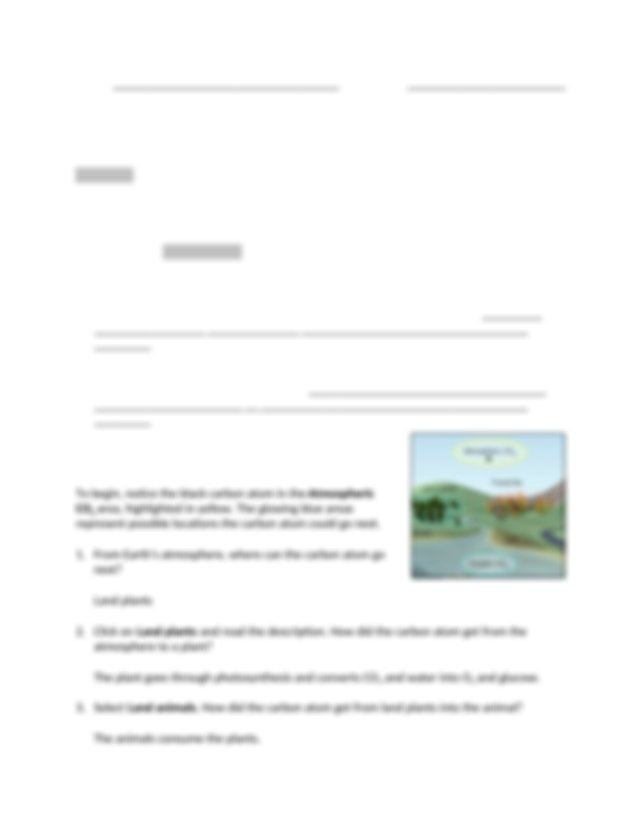 Science_Carbon Cycle Gizmo.docx - Name Ethan Fernandez ...