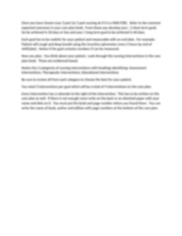 3 Parts of Nursing Diagnoses.docx - 3 Parts of Nursing ...