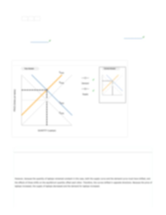14. A Supply And Demand Puzzle 1.pdf - < Back To Assignment Attempts 0.5 Do  No Harm 1.3 2 2 14 A Supply And Demand Puzzle The Following Graph Shows The  | Course Hero