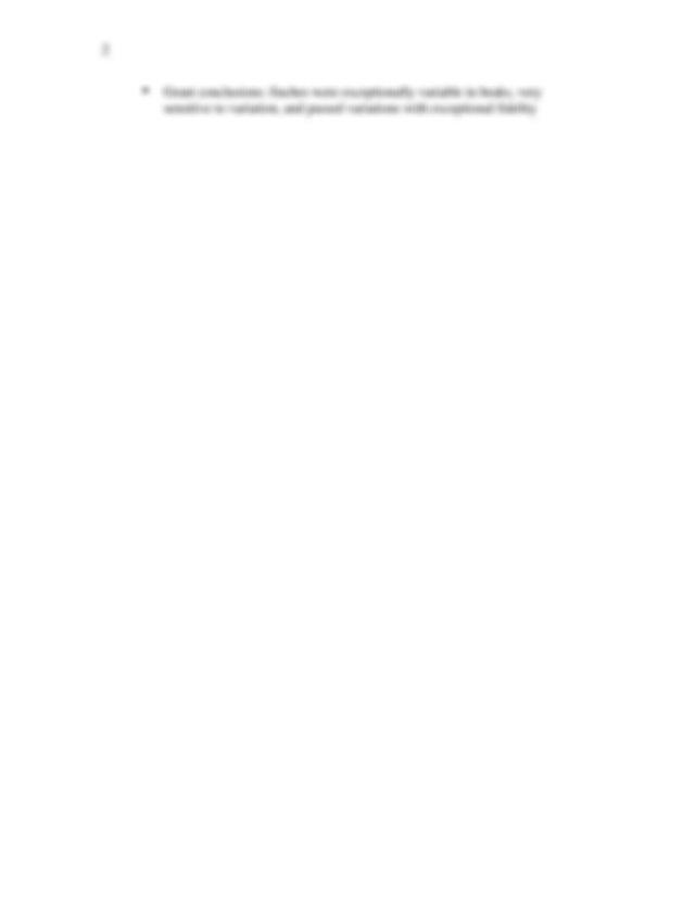 Beak of the Finch Ch. 4 Notes - 1 BeakoftheFinch,Chapter4 ...