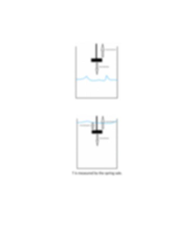 Lab 8 - Buoyant Force  U0026 Archimedes Principle Docx