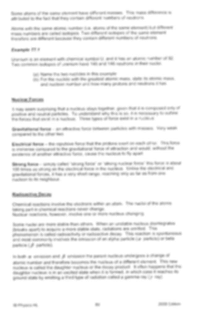 Ib Physics Chapter 7 Notes