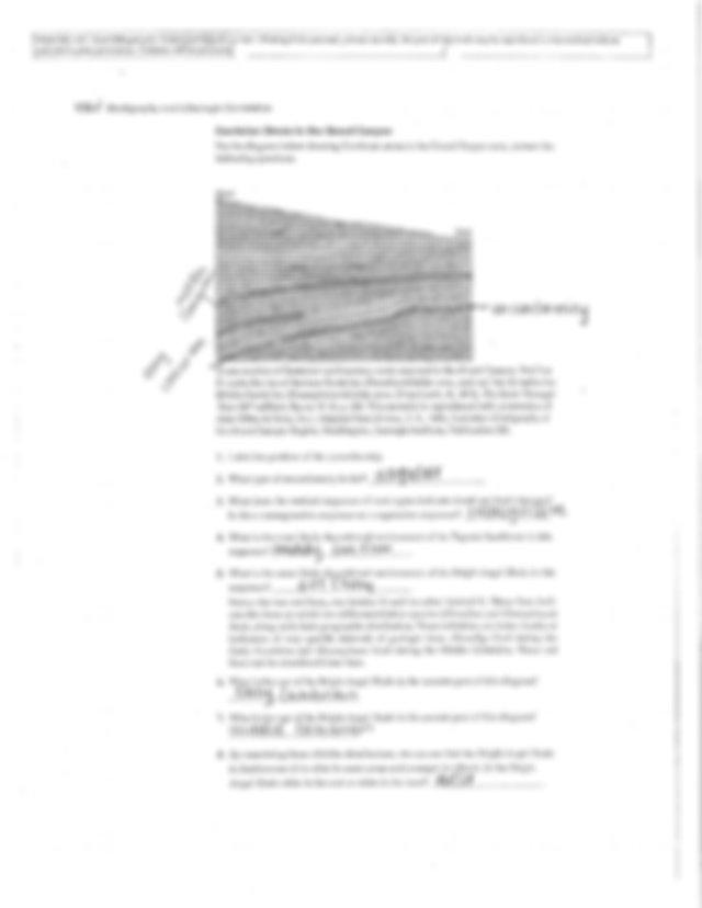 Stratigraphy and Lithologic Correlation Exercises