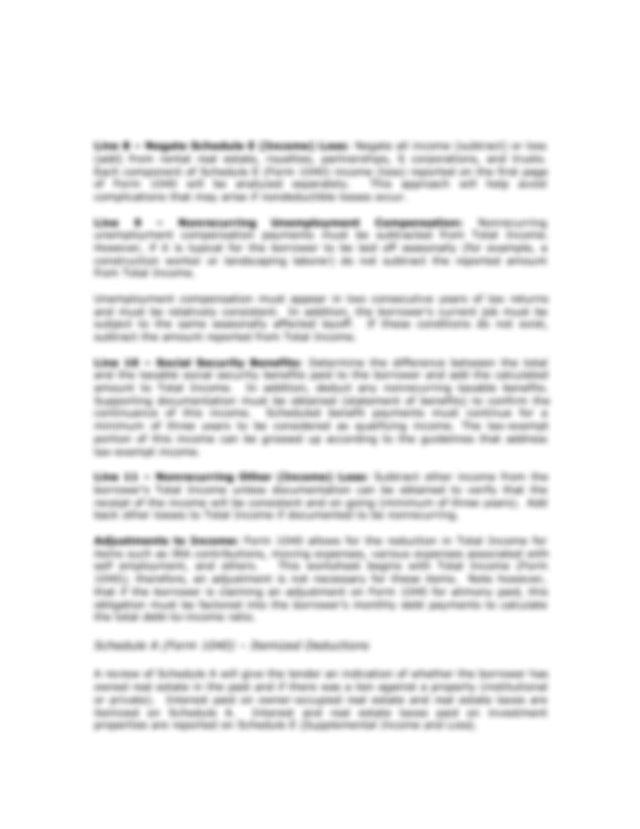 FannieMaeInstructions1084 - CASH FLOW ANALYSIS(FORM 1084 ...