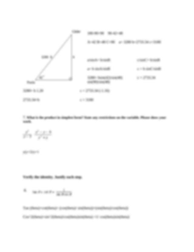 Algebra + II + Quarter 4 Exam.doc - Algebra 2 Quarter 4