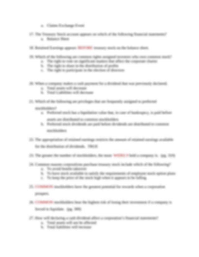 Chapter 8 - Q & A.docx - Chapter 8 Proprietorships ...
