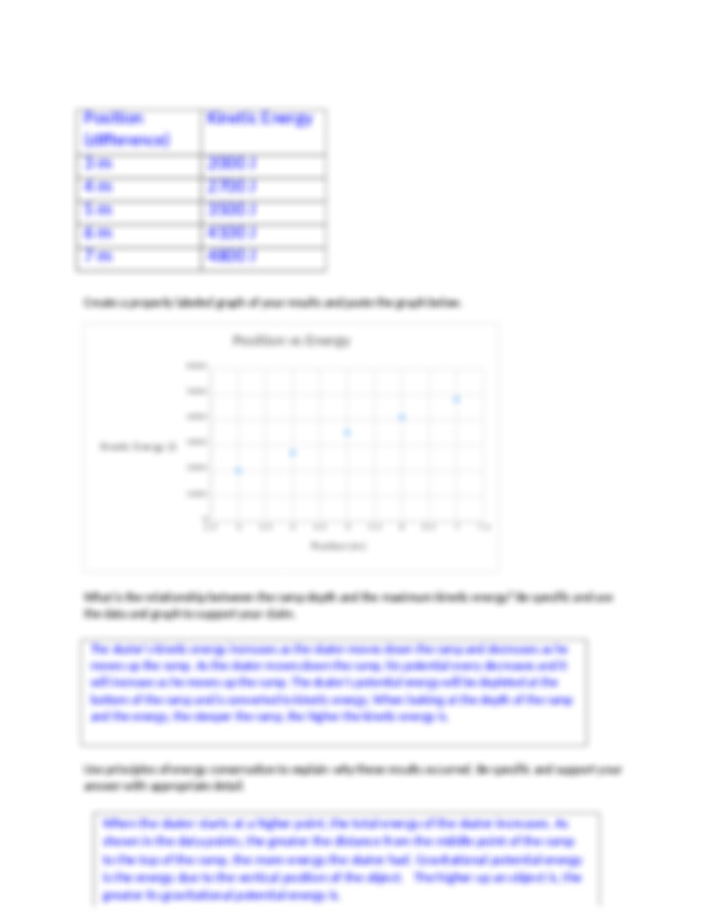 PHY111 Lab 7.docx - Lab 7 Worksheet Name Energy Section ...