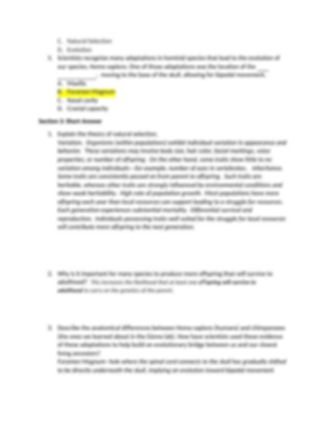 Unit 4 Changes Over Time Study Guide ANSWERS.docx - Unit 4 ...